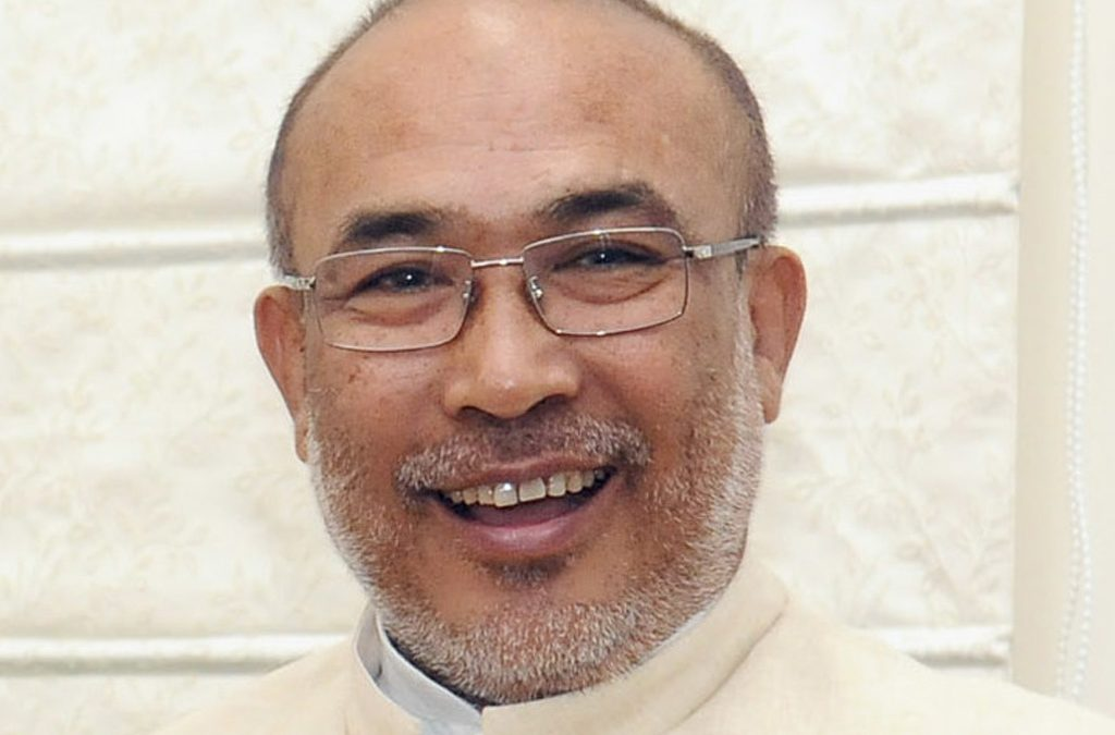 Chief Ministers of Manipur – CM