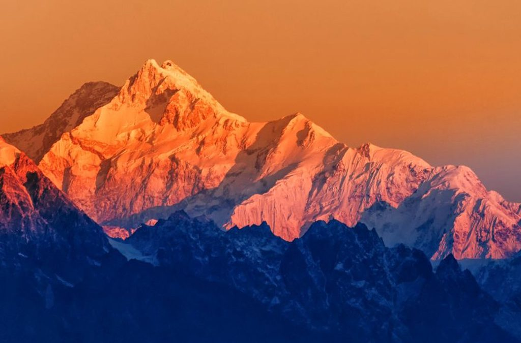 Highest Mountains in the States of India